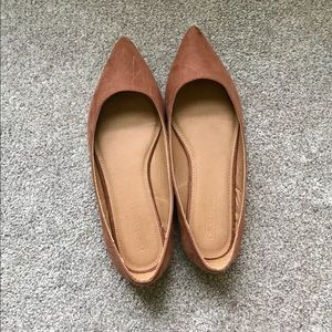 ASOS BROWN (NUDE) CHIC FLATS